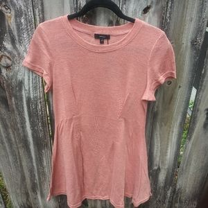 Very J Dusty Pink T-shirt Dress Size Small
